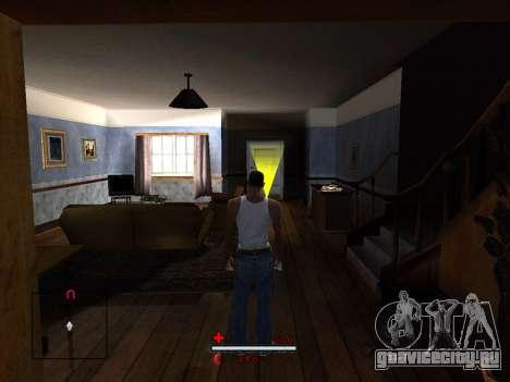 C-HUD by SaMoGoN для GTA San Andreas третий скриншот