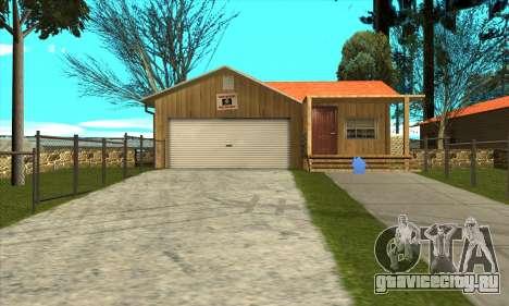 Новый дом Сиджея в Паломино Крик для GTA San Andreas