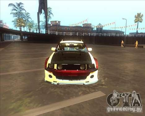 Ford Mustang GT из NFS MW для GTA San Andreas вид сзади слева