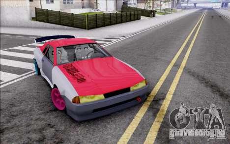Elegy New Drift Kor4 для GTA San Andreas вид снизу