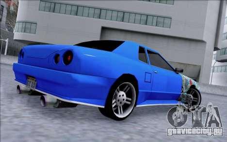 Elegy By Dr1ad для GTA San Andreas вид слева
