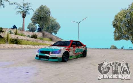 Toyota Altezza Addinol для GTA San Andreas