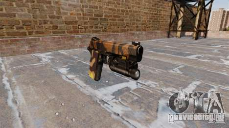 Полуавтоматический пистолет Kimber Fall Camos для GTA 4