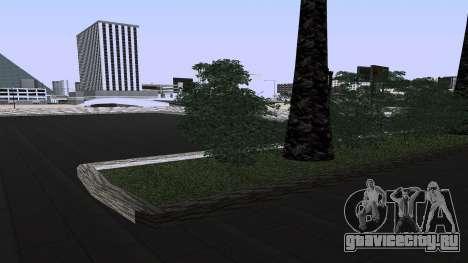 Новые текстуры ЖД Вокзала в Лас Вентурасе для GTA San Andreas третий скриншот