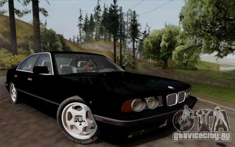BMW 540i (E34) для GTA San Andreas вид слева