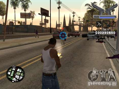 C-HUD Deagle для GTA San Andreas второй скриншот
