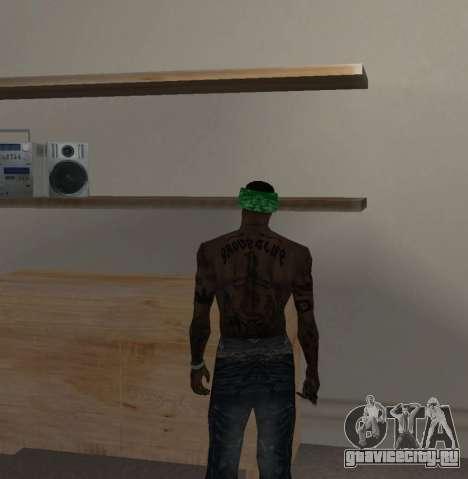 Новые банданы для CJ для GTA San Andreas шестой скриншот