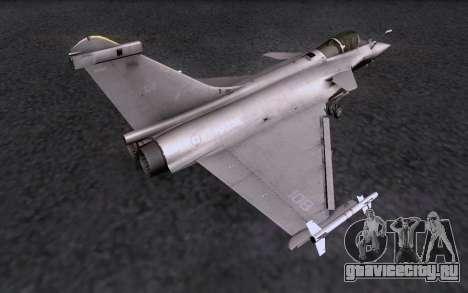 Dassault Rafale M для GTA San Andreas вид справа