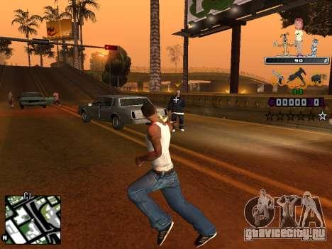 C-HUD Простоквашино для GTA San Andreas