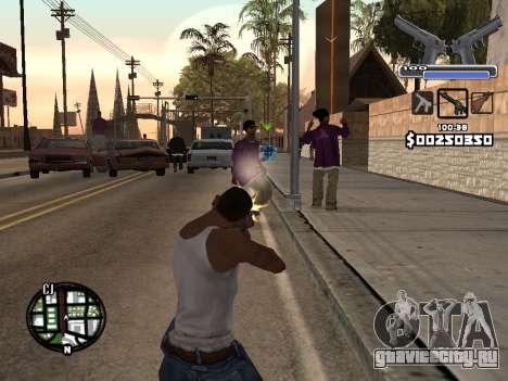C-HUD Deagle для GTA San Andreas