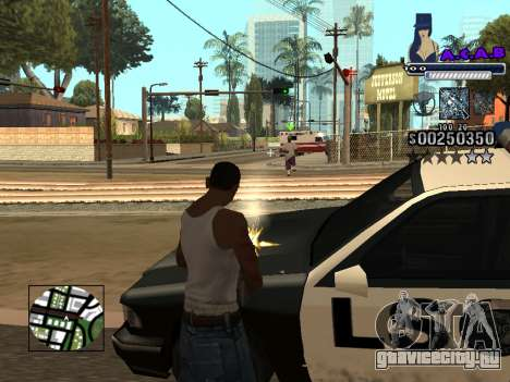 C-HUD new A.C.A.B для GTA San Andreas пятый скриншот