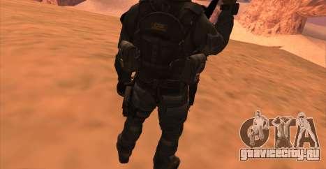 Lt. David Hesh Walker из Call Of Duty: Ghosts для GTA San Andreas седьмой скриншот