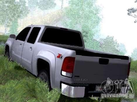 GMC Sierra SLT для GTA San Andreas вид справа