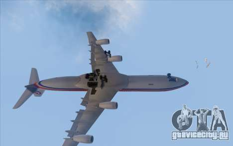 Airbus A340-300 China Eastern для GTA San Andreas вид изнутри