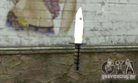 Golden Knife для GTA San Andreas второй скриншот