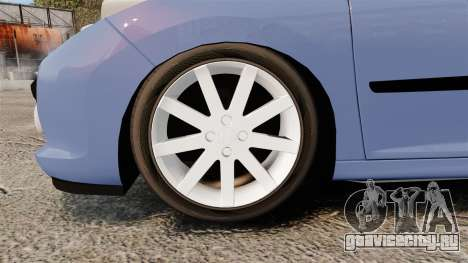 Peugeot 207 RC для GTA 4 вид сзади