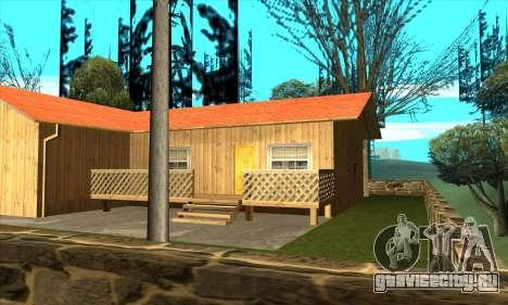 Новый дом Сиджея в Паломино Крик для GTA San Andreas третий скриншот