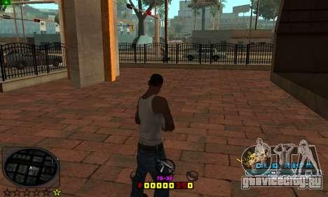 C-HUD Old-Rifa для GTA San Andreas второй скриншот