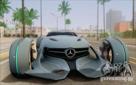 Mercedes-Benz SilverArrow для GTA San Andreas вид справа