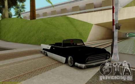 Oceanic Кабриолет для GTA San Andreas вид слева