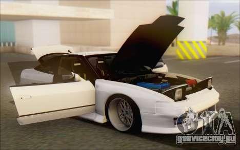 Nissan 240sx Blister для GTA San Andreas салон
