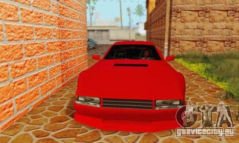 New Cheetah v1.0 для GTA San Andreas вид слева