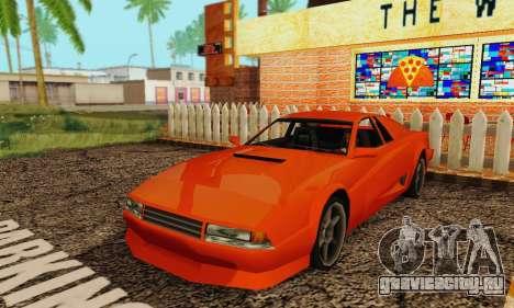 New Cheetah v1.0 для GTA San Andreas