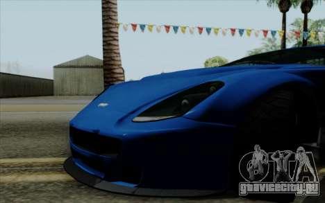 Rapid GT для GTA San Andreas вид справа
