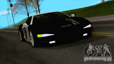 Infernus Police для GTA San Andreas