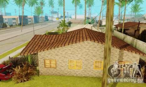 Новые текстуры дома Денис для GTA San Andreas третий скриншот