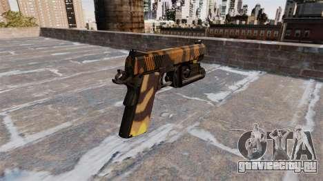 Полуавтоматический пистолет Kimber Fall Camos для GTA 4 второй скриншот