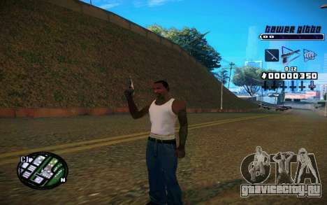 C-HUD Tawer Gitto для GTA San Andreas