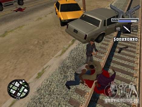 C-HUD Deagle для GTA San Andreas шестой скриншот