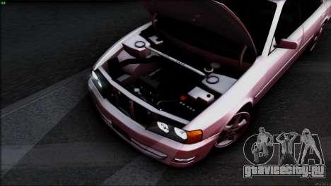 Toyota Chaser Tourer V для GTA San Andreas двигатель