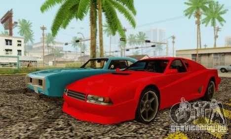 New Cheetah v1.0 для GTA San Andreas вид справа