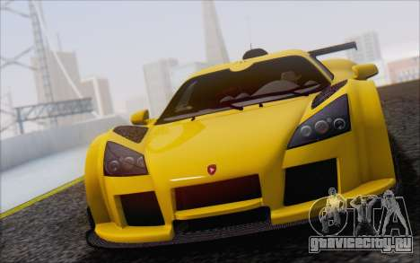 Gumpert Apollo S Autovista для GTA San Andreas