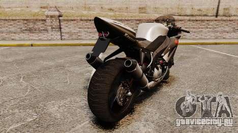 Kawasaki Ninja ZX-6R v2.0 для GTA 4 вид справа