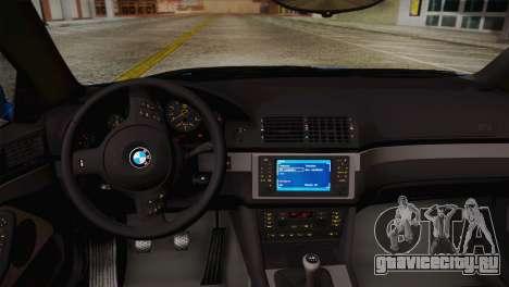 BMW E39 M5 2003 для GTA San Andreas вид сбоку