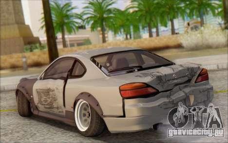 Nissan Silvia S15 Fail Camber для GTA San Andreas вид сверху