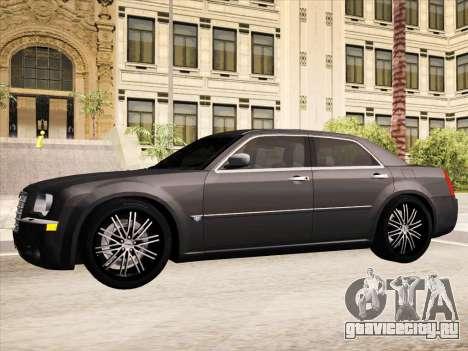 Chrysler 300C 2009 для GTA San Andreas салон