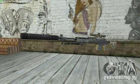 Sniper Rifle из MW2 для GTA San Andreas