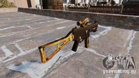 Пистолет-пулемёт UMP45 Fall Camos для GTA 4 второй скриншот