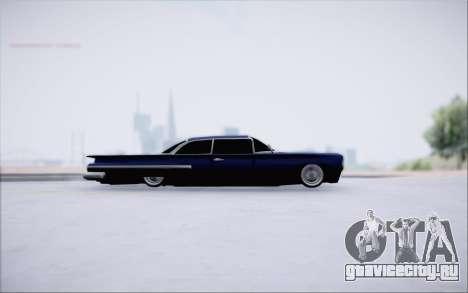 Voodoo Low Car v.1 для GTA San Andreas вид сзади слева