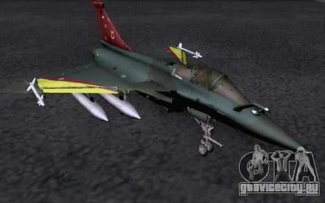 Dassault Rafale M для GTA San Andreas вид сзади