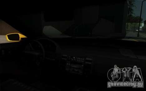 Buffalo Taxi для GTA San Andreas вид справа