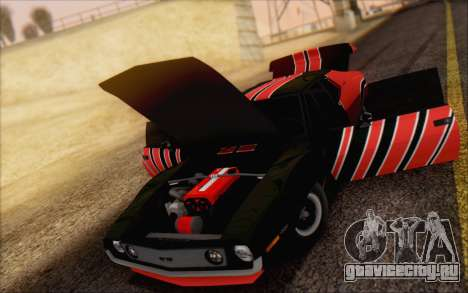 AMC Javelin для GTA San Andreas вид сзади