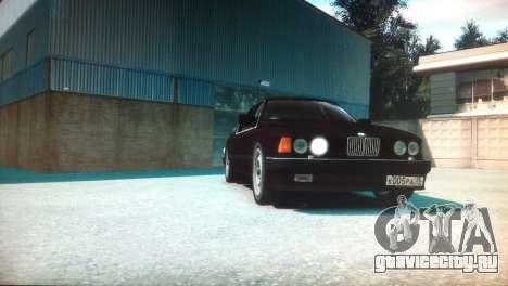 BMW 735iL E32 ver 2 для GTA 4 вид справа