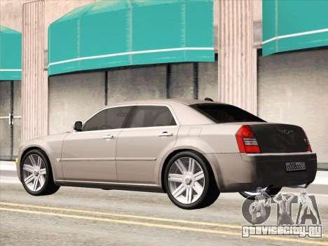 Chrysler 300C 2009 для GTA San Andreas вид изнутри