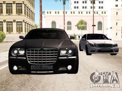 Chrysler 300C 2009 для GTA San Andreas вид сверху