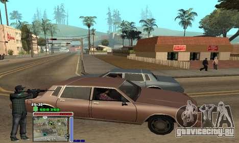 C-HUD Grove by Krutoyses для GTA San Andreas второй скриншот